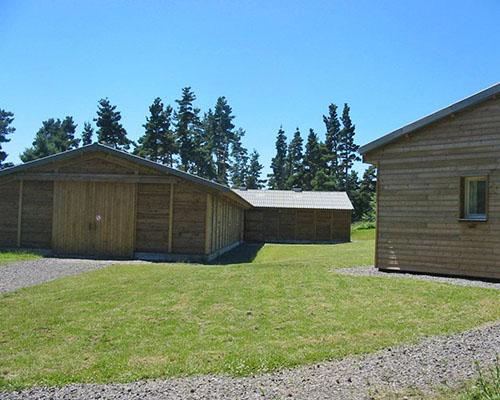 Barn avec les boxes
